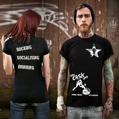 Cask Bah Black T-Shirt - Ladies Small