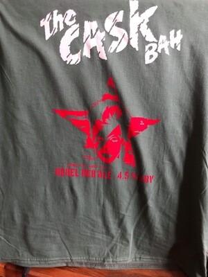 Cask Bah Black T-Shirt - Unisex Medium