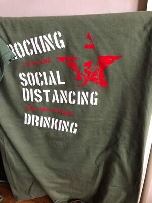 Cask Bah Green T-Shirt - Small Unisex