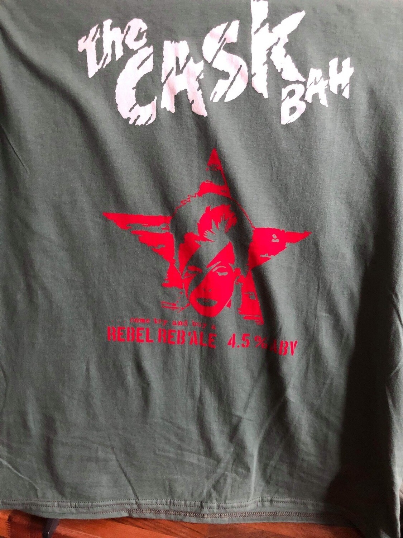 Cask Bah Black T-Shirt - Ladies Medium