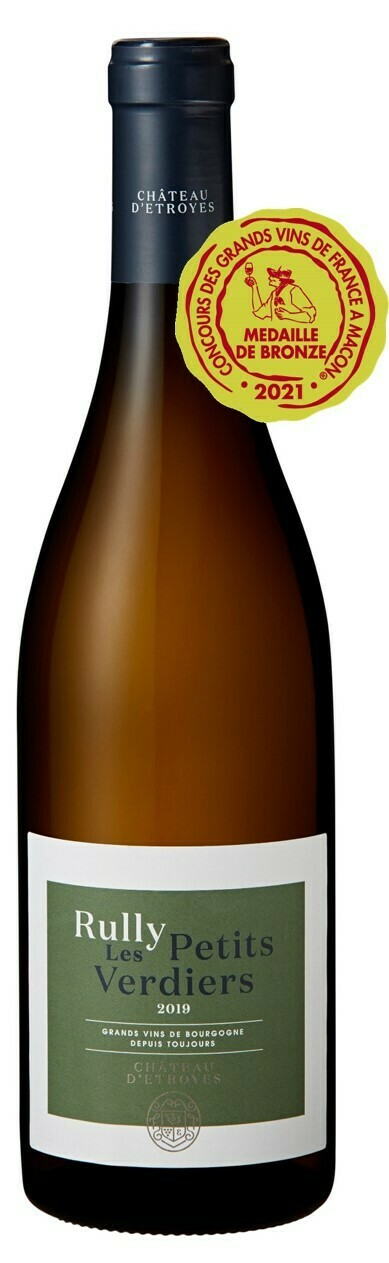 Château d'Etroyes Rully blanc Les Petits Verdiers 2019