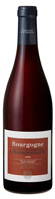 Château d'Etroyes Bourgogne rouge Côte Chalonnaise Champrenard 2019