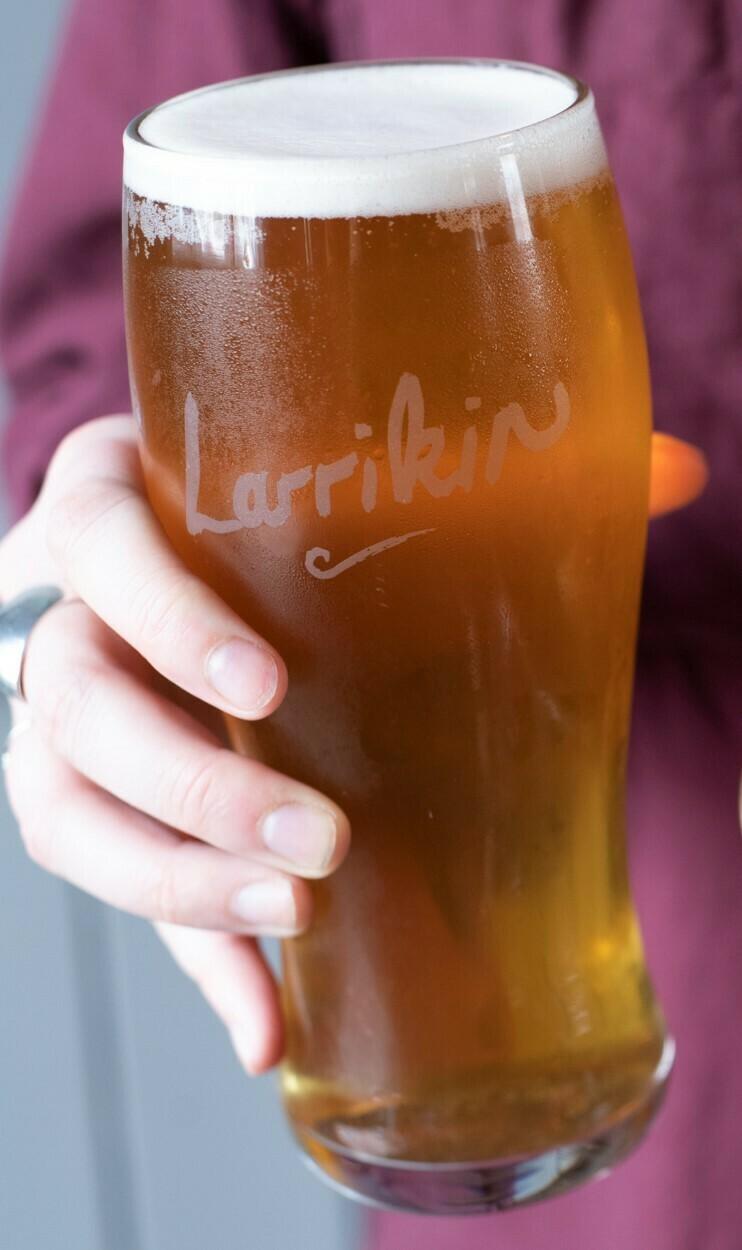 Larrikin Pint Glass
