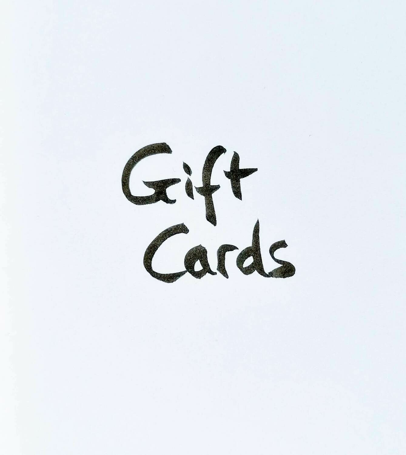 Digital Gift Cards (use in Online Store)