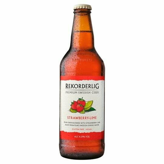 Rekorderlig Strawberry - Lime 4%