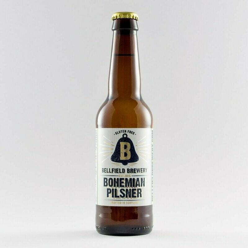 Bellfield Brewery - Bohemian Pilsner - 4.5% (330ml)