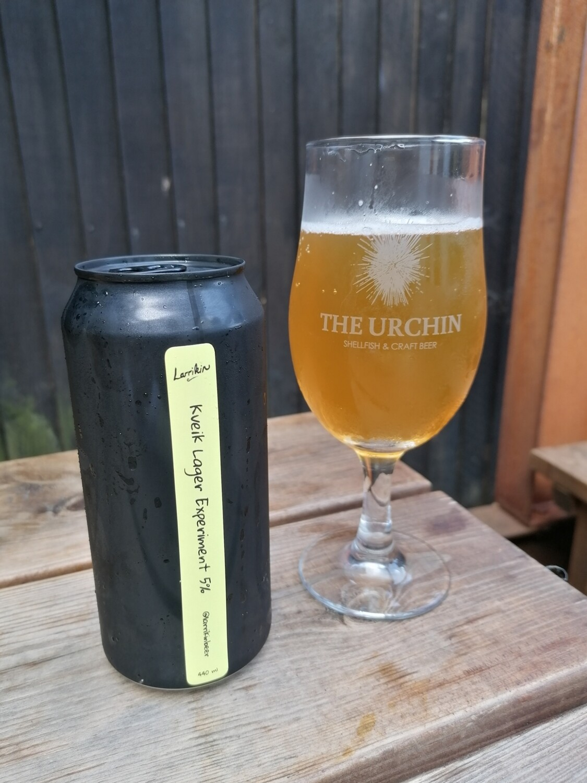 Larrikin - Kveik Lager Experiment - 5% (440ml)