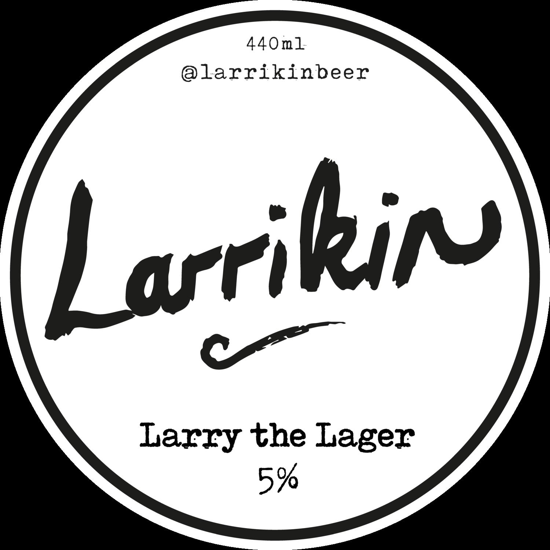 Larrikin - Larry the Lager v3 - 5% (440ml)