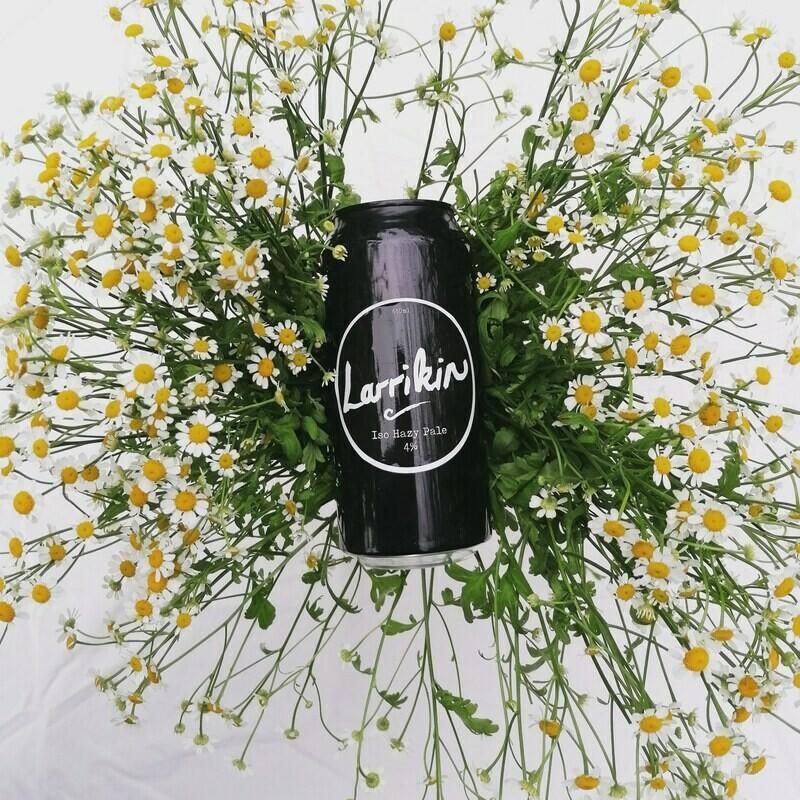 Larrikin - ISO Hazy Pale - 4% (440ml) [canned 24/02/21]