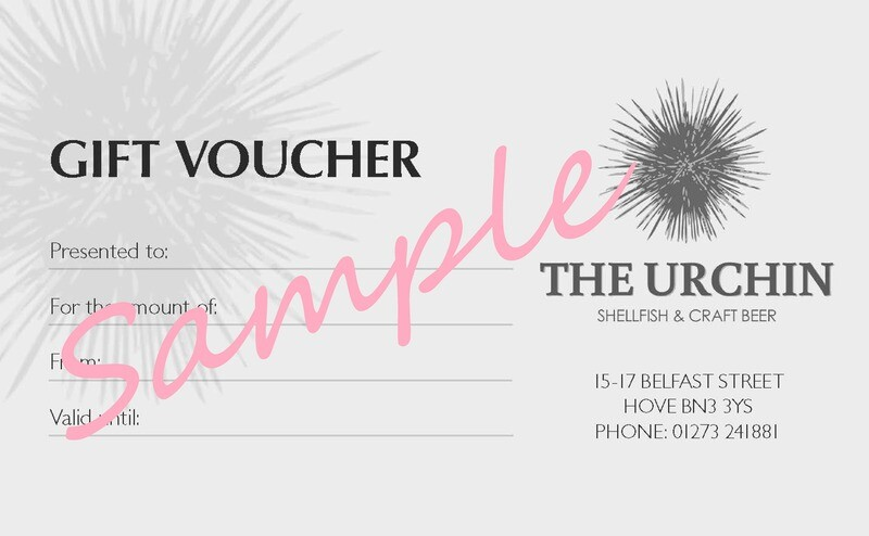 Gift Voucher (use at The Urchin)
