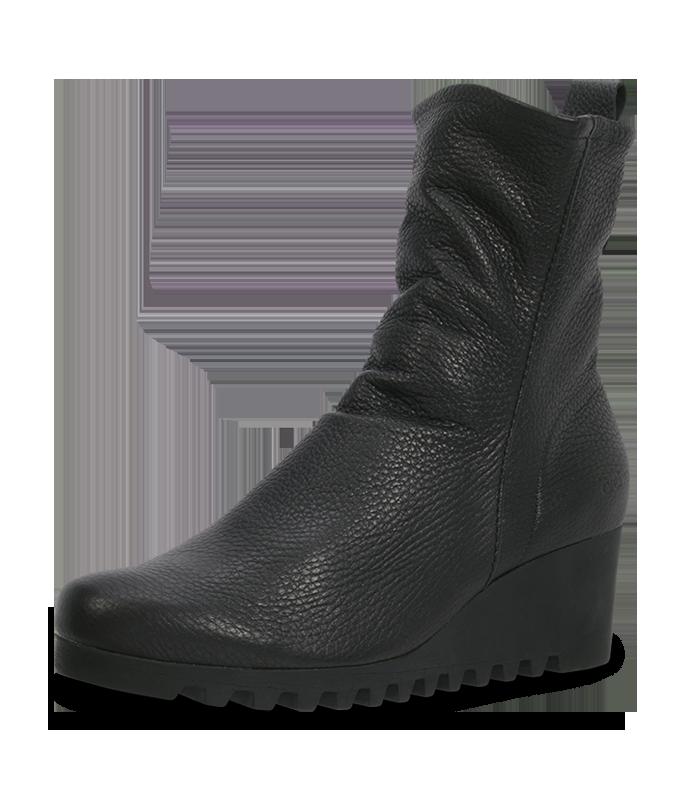 arche Stiefel  – Larazo Leder Stiefelette schwarz