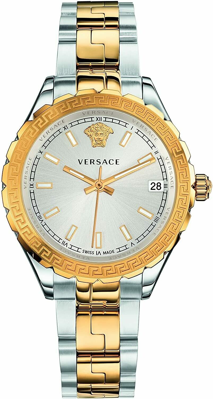 VERSACE Uhr Damen V1203 / VQD06 0015 Gold-Silber-Edelstahl Bicolor