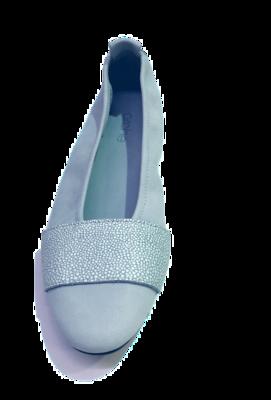 arche Ballerina – Lahkel Wildleder hellblau