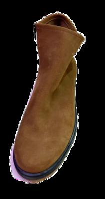 arche Boots  – Detyam Nubuck Wildlerder Grün/ Braun