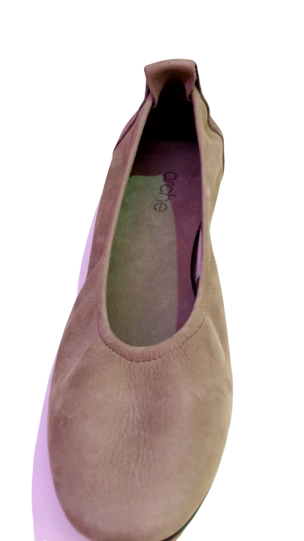 arche Ballerina  – Ninoka Hunter Leder Beige