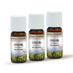 Original Zirbenöl 3 x 20 ml