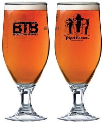 Tripel Bassett 330ml Dunkel Glass