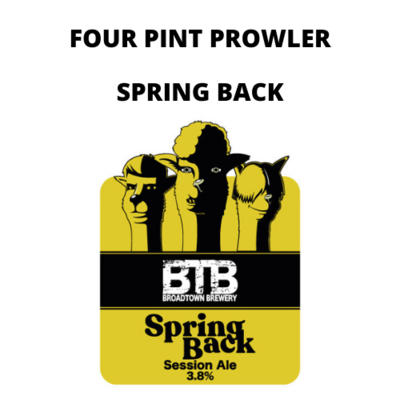 Spring Back Four Pint Prowler Fill
