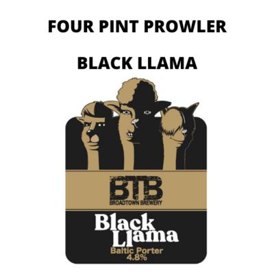 Black Llama Batlic Porter Four Pint Prowler Fill