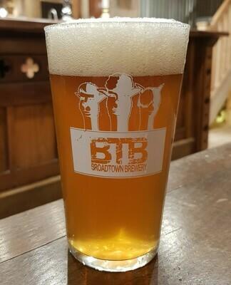 BTB Branded Pint Glass