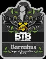 Barnabus Imperial Russian Stout 10.4% Growler Fill