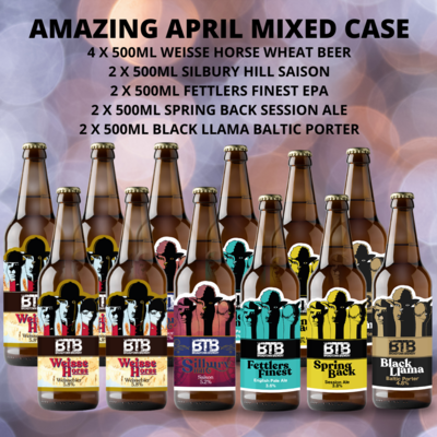 Amazing April Mixed Case