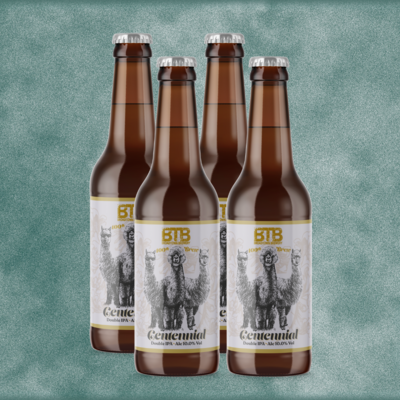 Centennial Double IPA 10.0% Abv. Four Pack