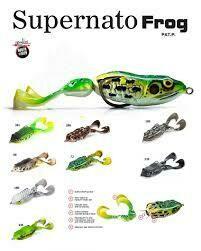 Supernato frog