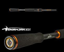 "Evo 6'8"" spinning 3/16-1/2 oz line 6-12 lb fast"