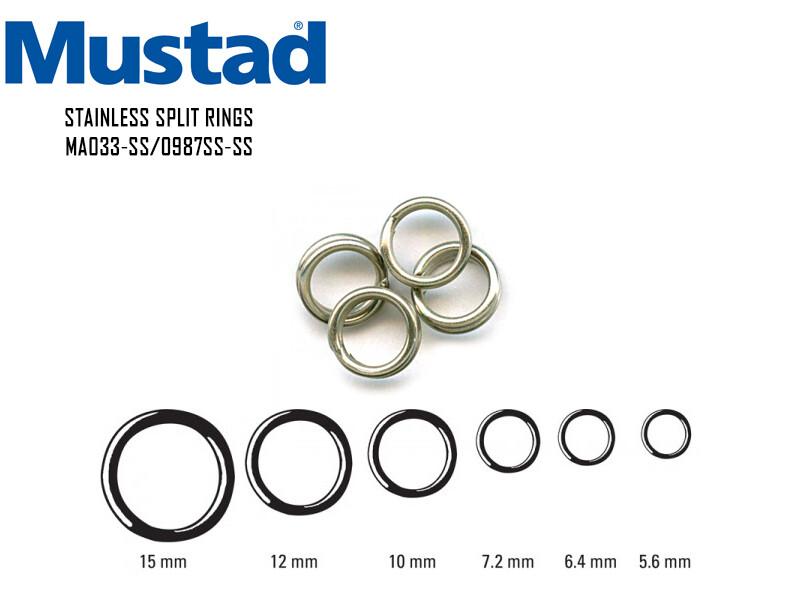 Ring Mustad MA033SS mm 5.6