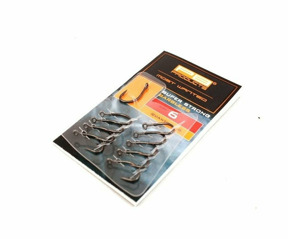PB product super strong barbless hook