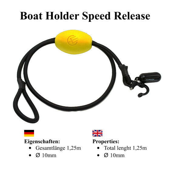 Boat holder speed realese yellow