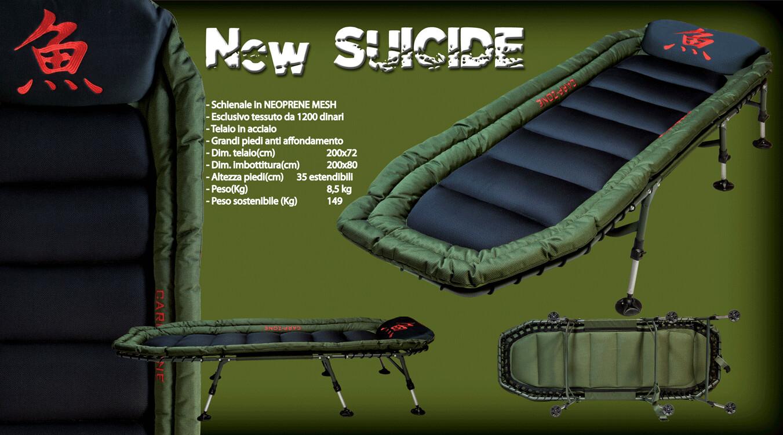New suicide bedchair
