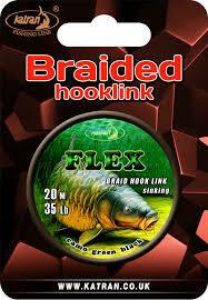 Braided hook links Flex 20m