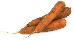 Carotte direct producteur.  1 kilo entre 6 à 8 carottes