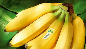 Banane BIO SELECT. 500 grammes environ 3 fruits