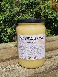 Miel de Lavandes. Crémeux. Provence. Pot de 500 grammes