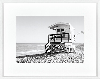 Hamptons Hut Print