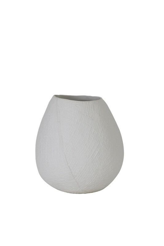 Jake Medium White Vase