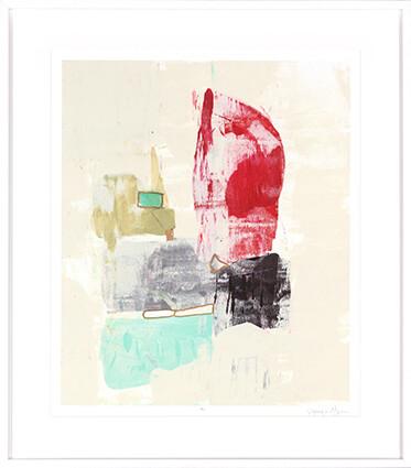 Cherry I Abstract Print