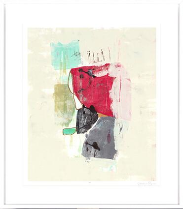 Cherry II Abstract Print