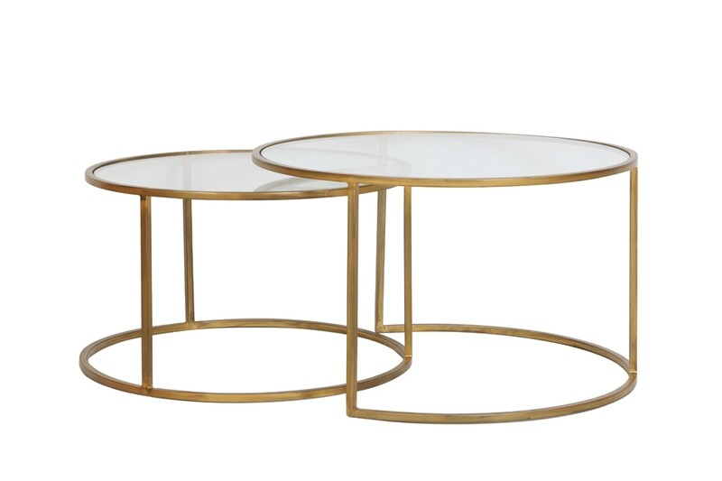 Bonnie Gold Coffee Table Set