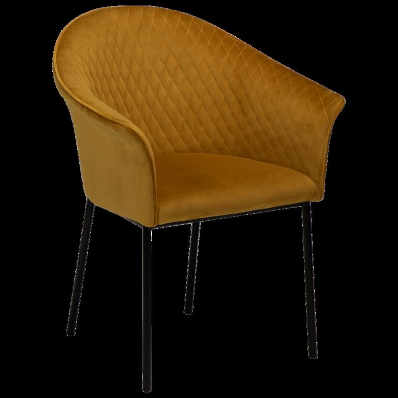 Kite Velvet Dining Chair