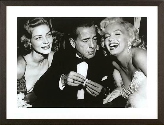 Bacall, Bogart & Monroe Print