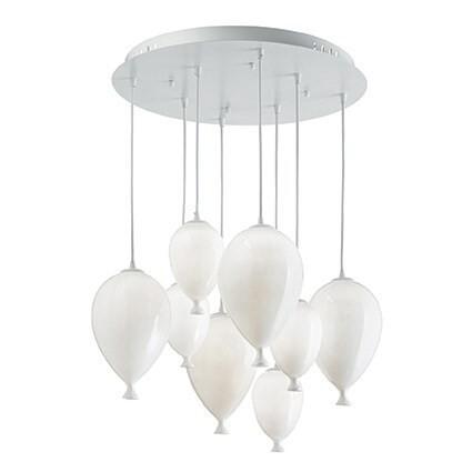 Balloons 8 Light Pendant