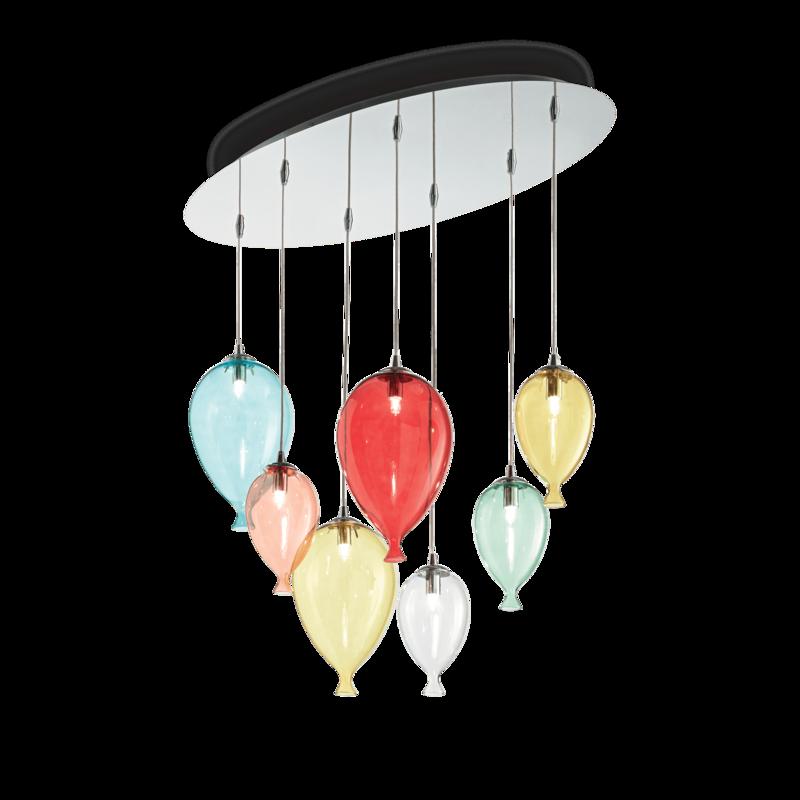 Balloons 7 Light Pendant