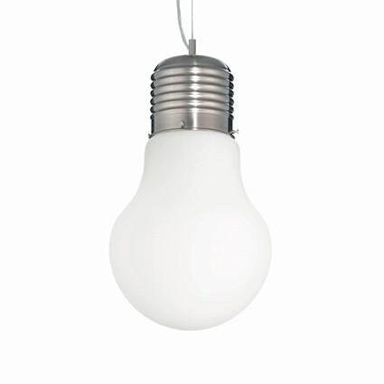 Big Bulb White Pendant
