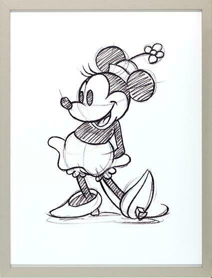 Disney Minnie Mouse Sketch