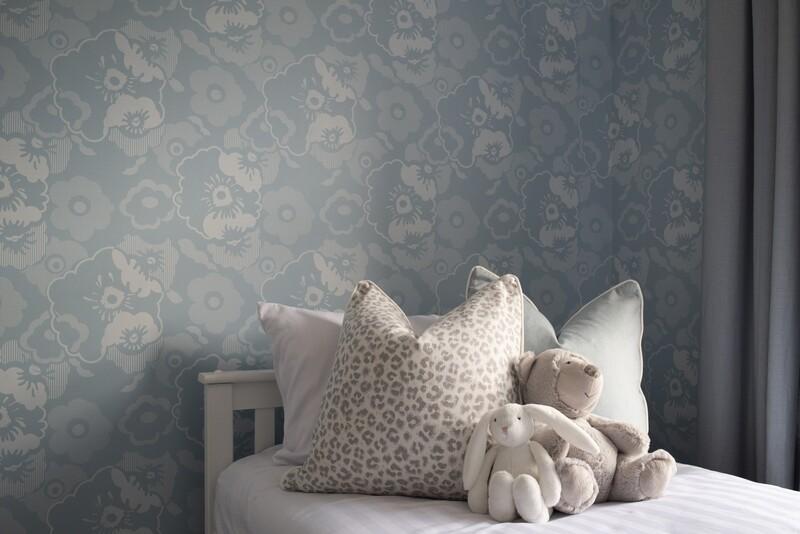 Alice Powder Blue Wallpaper