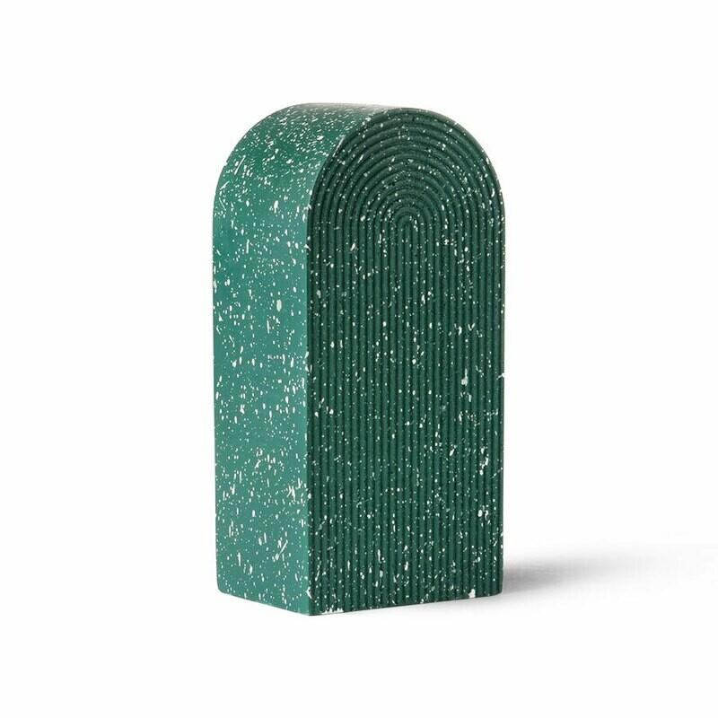 Green Terrazzo Arch Ornament